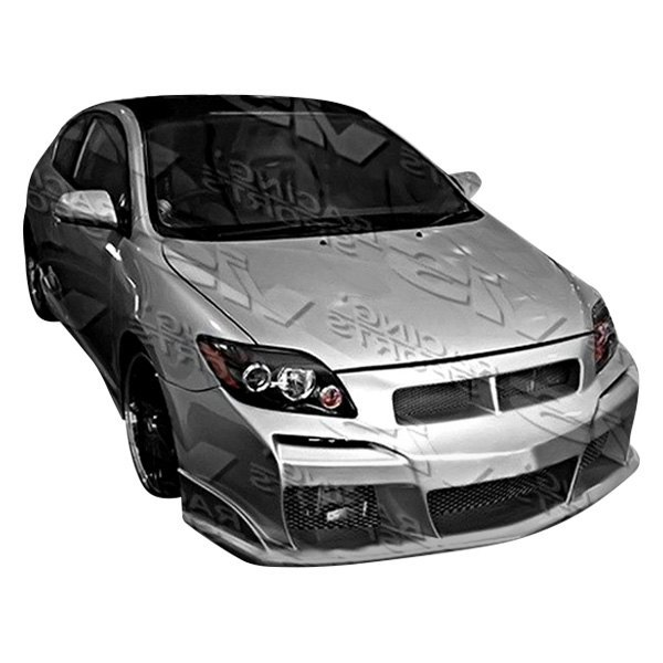 Vis Racing Scion Tc 2005 2010 Laser Style Fiberglass Bumpers