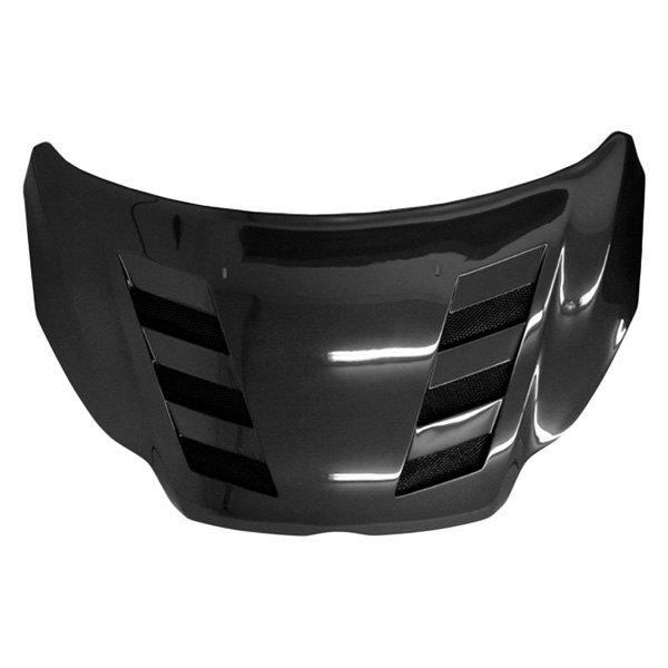 VIS Racing® 12FDFOC2DAMS-010C - AMS Style Carbon Fiber Hood