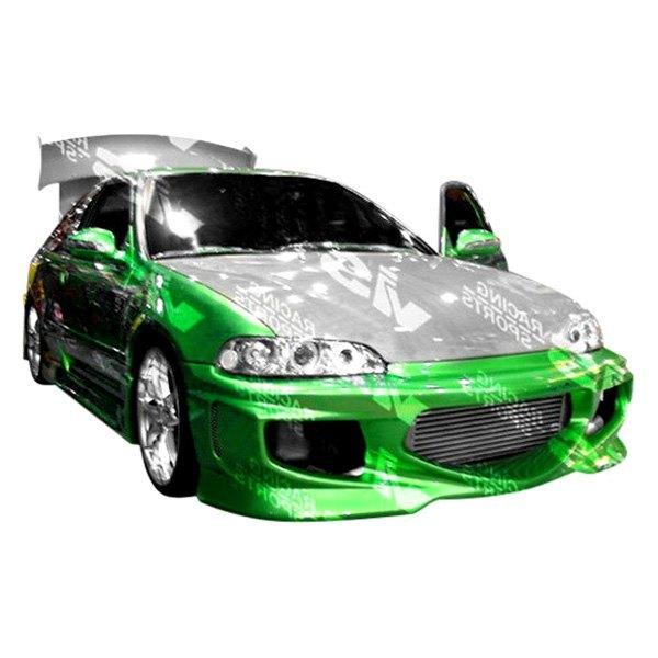 Honda Civic 1995 GT Bomber Style Fiberglass