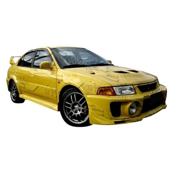 Vis racing 97mtmir4dje5wb 001 evo 5 style fiberglass for Garage mitsubishi valence