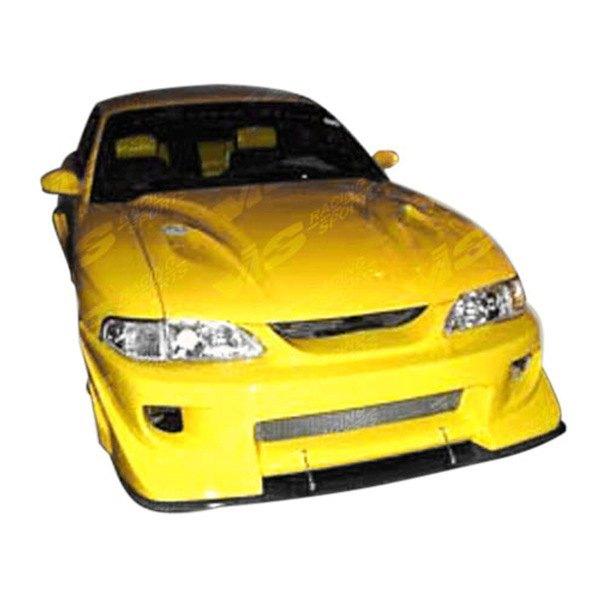 Toyota Celica 1994 1999 Invader Front Bumper: VIS Racing® 99FDMUS2DBZ-001