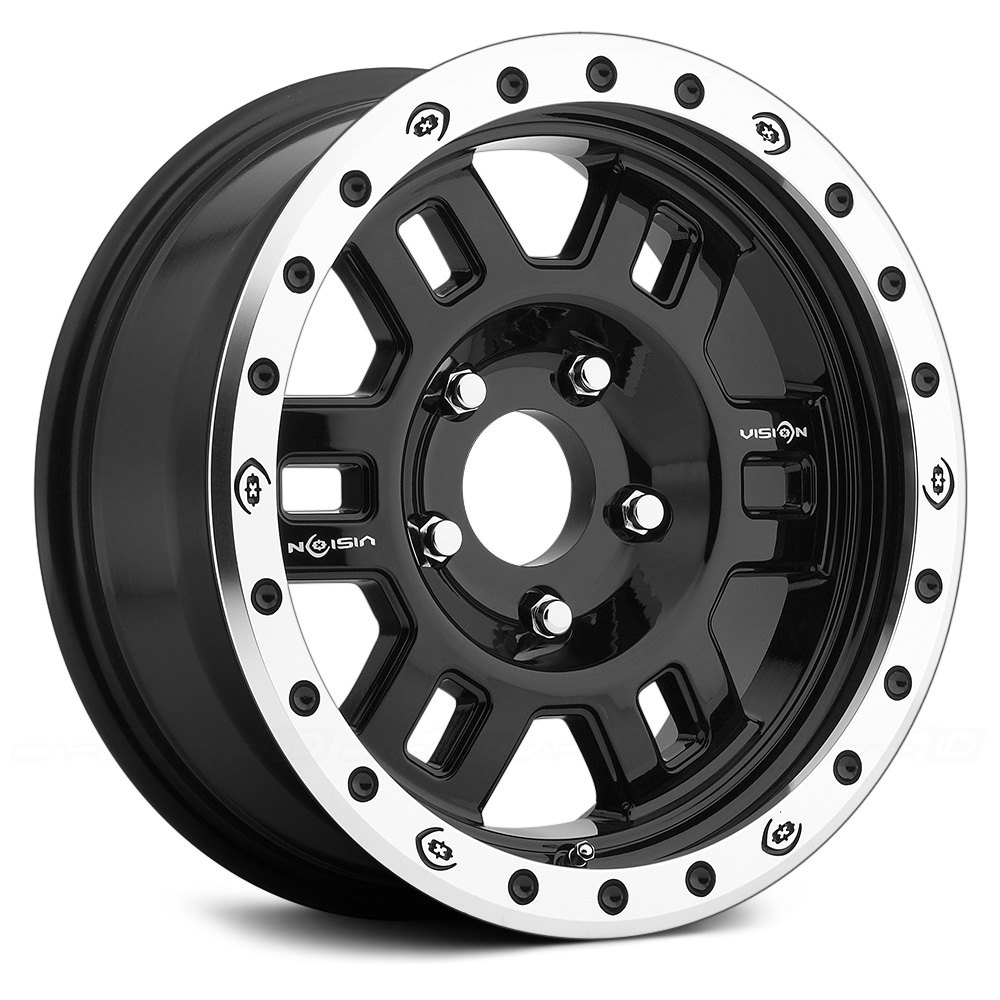 Vision Off Road 174 Manx Competition Wheels Gloss Black