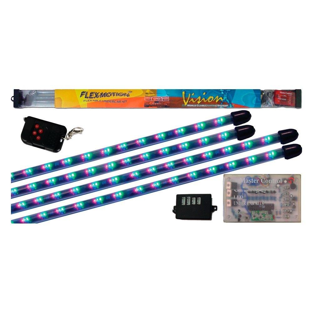 Vision X® 4005013 - Flexible Multicolor LED Underbody Kit