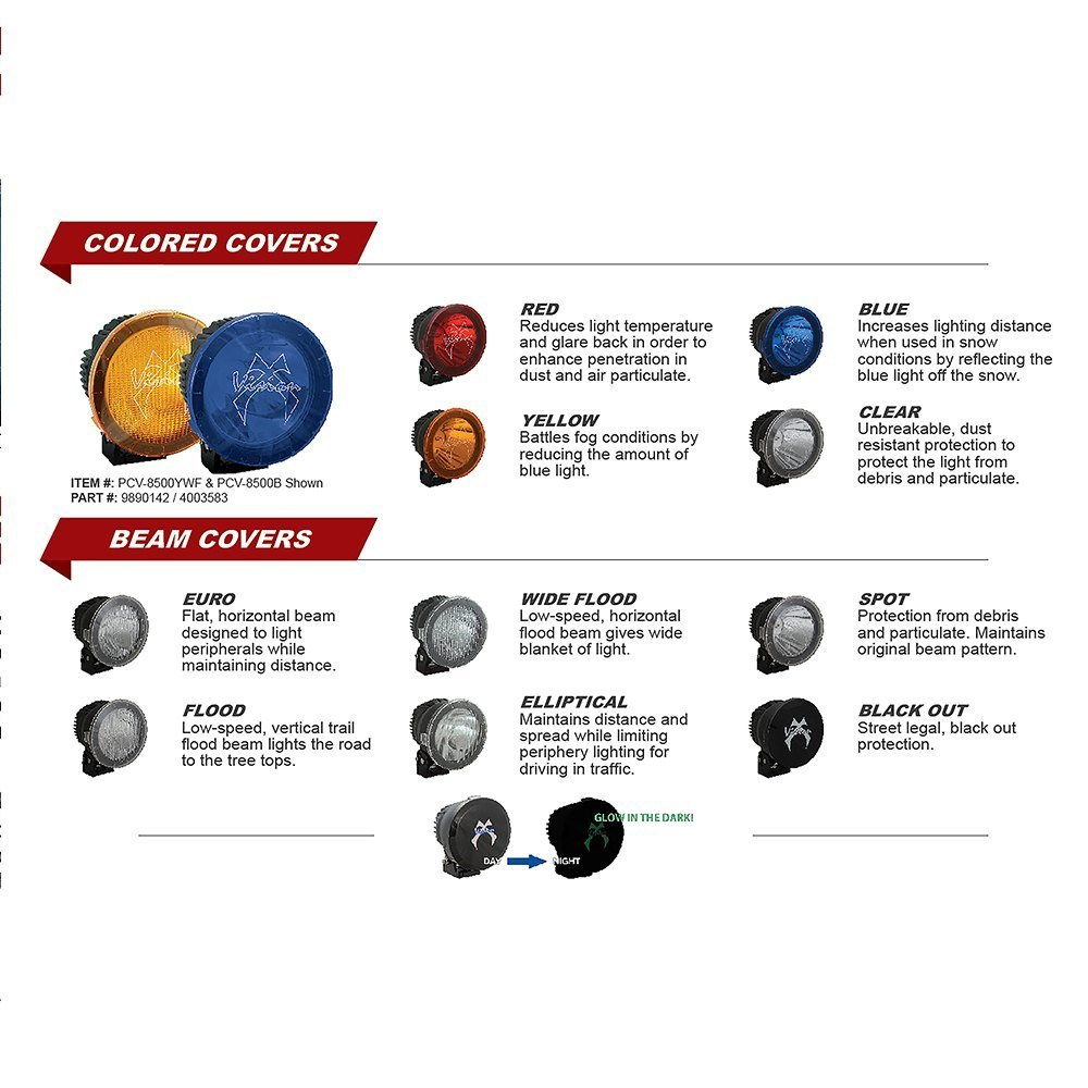 Vision X 9889740 Light Cover