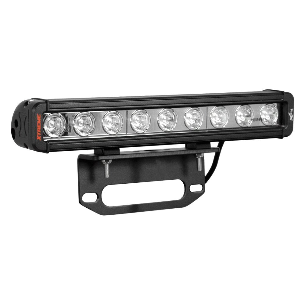 Vision X® - Winch Fairlead Xmitter Low Profile Xtreme 12  20W LED Light Bar Kit with 6  ...  sc 1 st  CARiD.com & Vision X® - Winch Fairlead Mounted Xmitter Low Profile Xtreme 12 ... azcodes.com