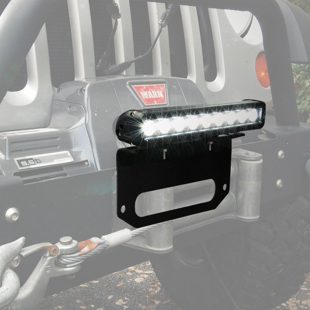 Vision x winch fairlead mounted xmitter low profile xtreme 12 vision x winch fairlead xmitter low profile xtreme 12 20w led light bar aloadofball Images