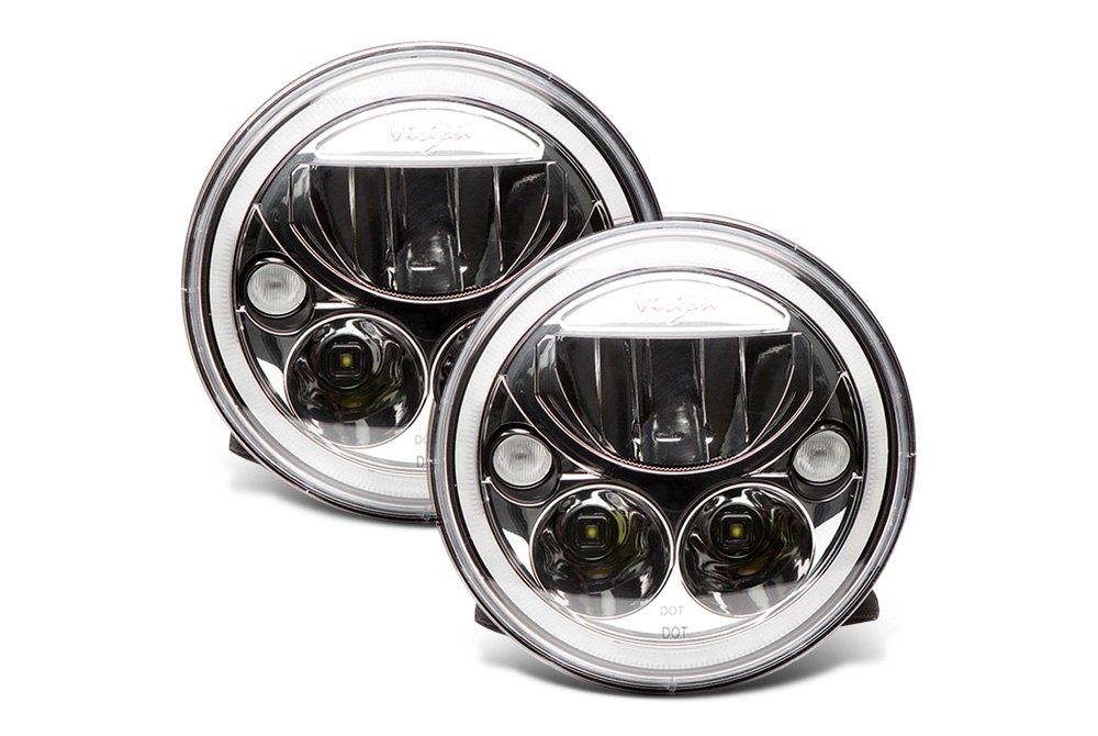 ... Light · Vision X®   Full LED Headlight With Halo Ring ...