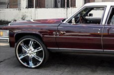 VISION® - HOLLYWOOD 6 Chrome on Cadillac Coupe de Ville