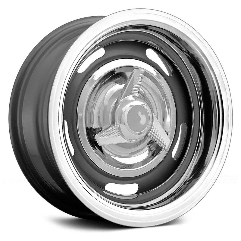 Vision 174 55 Rally Wheels Silver Rims