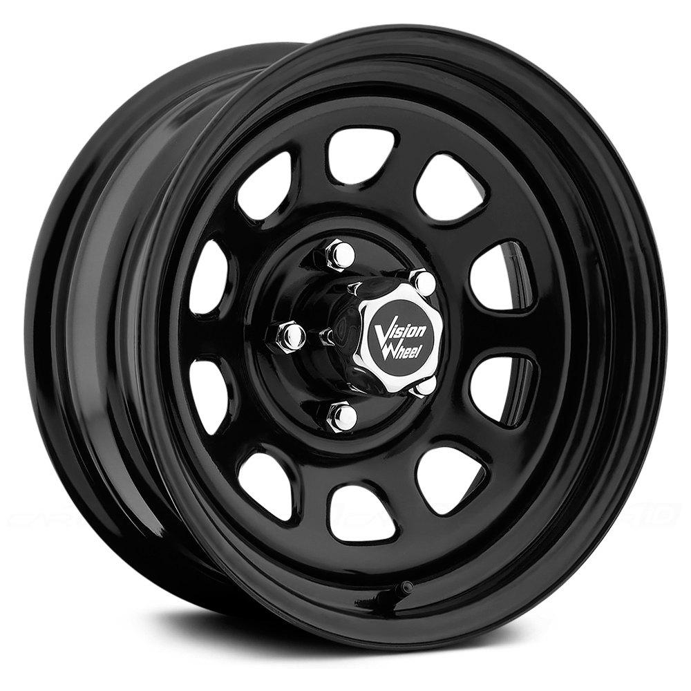 Vision d window wheels black rims for 17 inch d window wheels