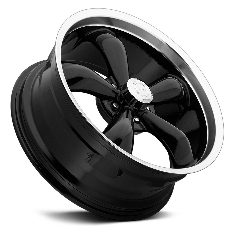 VISION® LEGEND 5-142 Wheels - Gloss Black with Machined ...