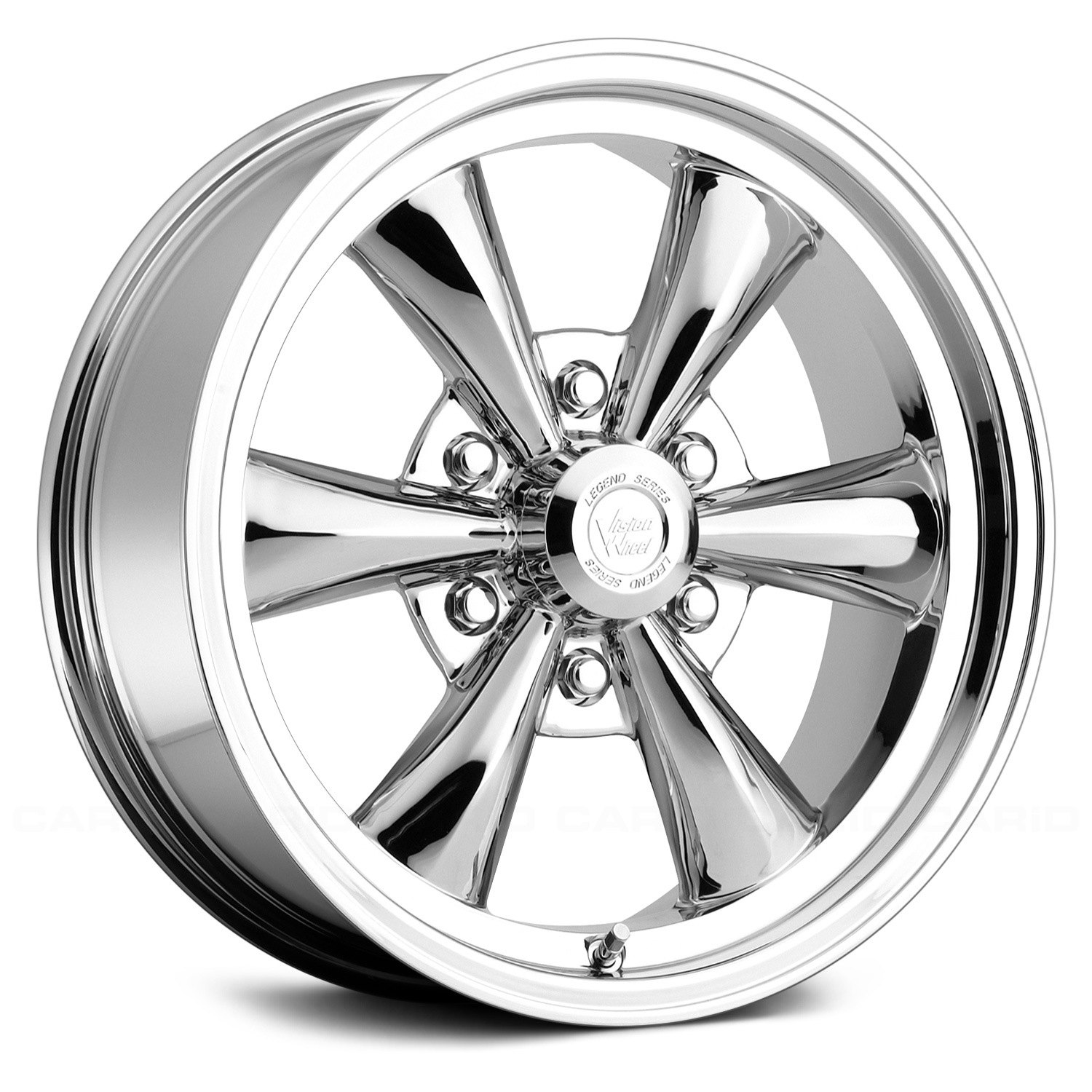 Vision 174 141 Legend 6 Wheels Chrome Rims