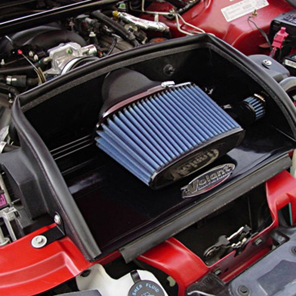 Volant Chevy Camaro Z28 Z28 Ss 1998 2002 Open Element Plastic Black Cold Air Intake System