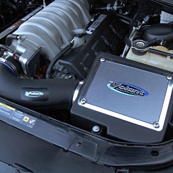 volant dodge challenger r t 2009 2010 cold air intake system with pro 5 filter. Black Bedroom Furniture Sets. Home Design Ideas
