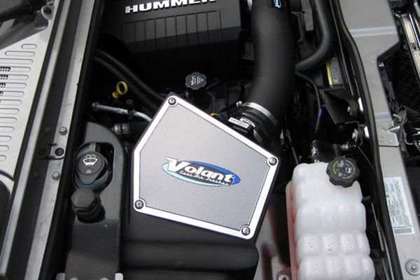 Volant Cold Air Intake >> Volant Plastic Black Cold Air Intake System With Pro 5 Blue Filter