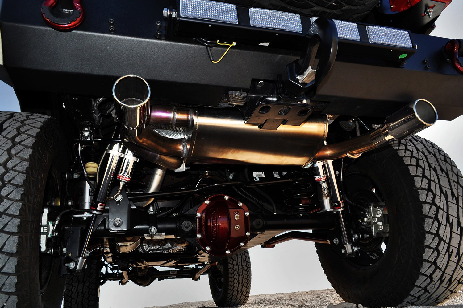 Volant stainless steel dual axle back exhaust