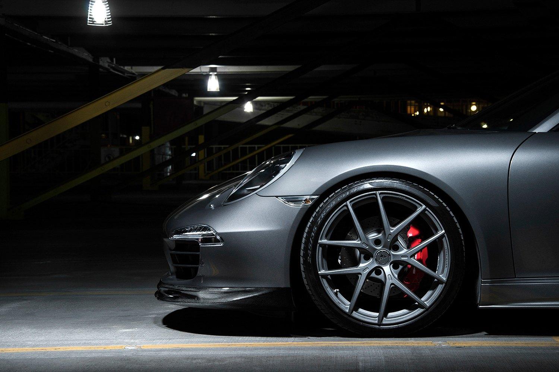 vorsteiner vff  wheels graphite rims