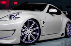 VOSSEN® - VVSCV4 Custom Painted on Nissan 370Z