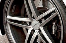 VOSSEN® - VVSCV5 Matte Graphite on Car