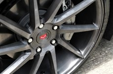 VOSSEN® - VVSCVT Gloss Graphite on Chevy Corvette Stingray