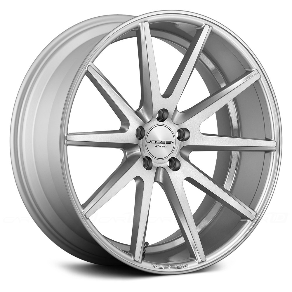 Vossen vfs1 wheels silver with brushed face rims