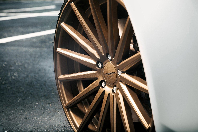 vossen vfs  wheels satin bronze rims