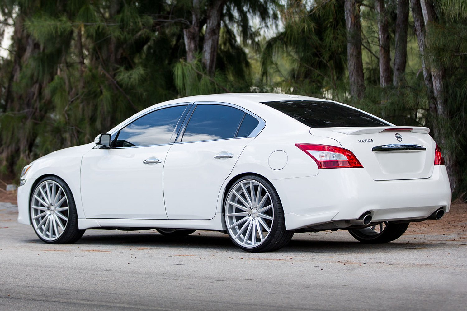 Vossen 174 Vfs 2 Wheels Silver With Polished Face Rims