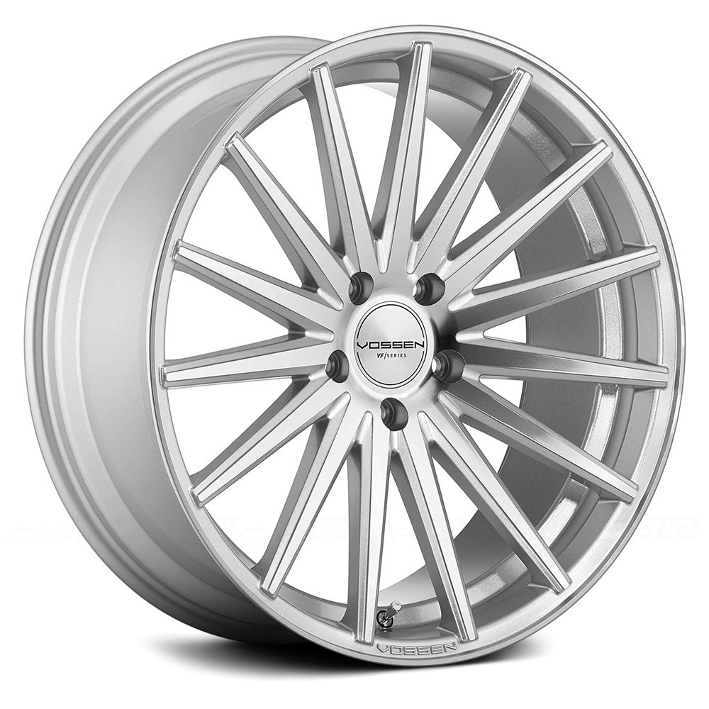 Silver With Polished Face Rims
