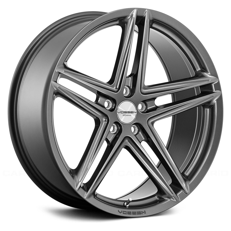 Vossen 174 Vfs 5 Wheels Gloss Graphite Rims