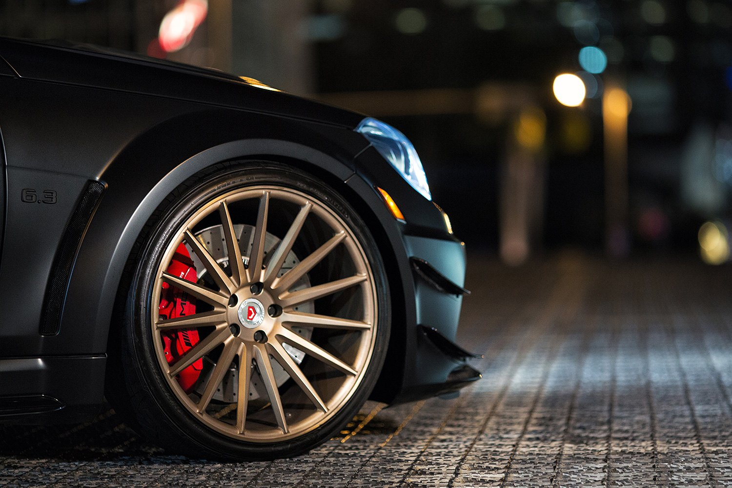Black And Red Rims >> VOSSEN® VPS-305 Wheels - Custom Painted Rims