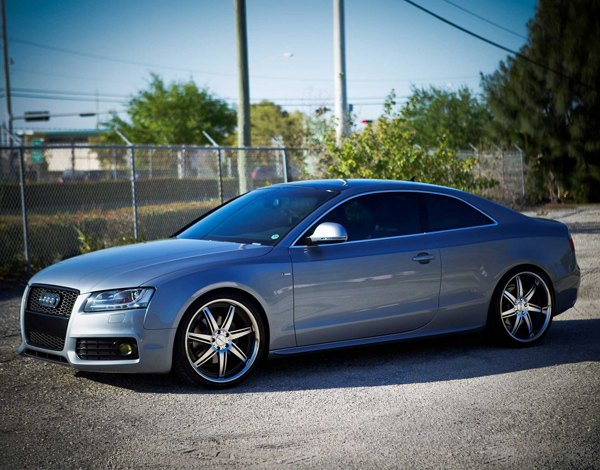 black and chrome vossen vvs086