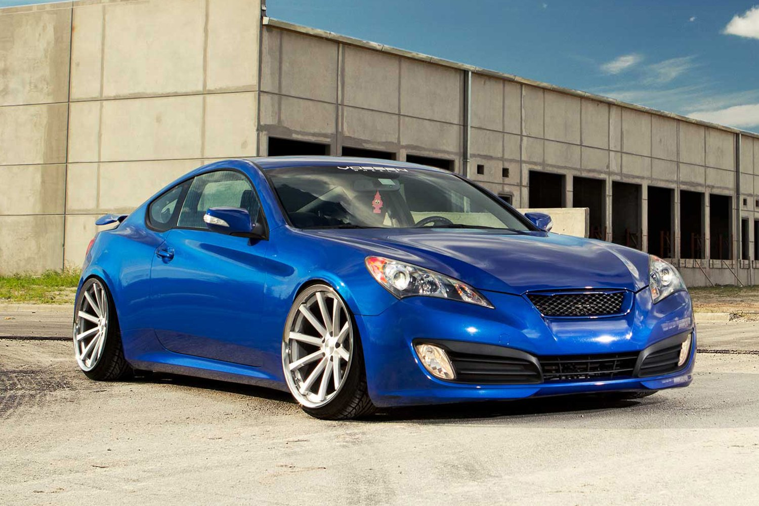 Vossen 174 vvscv1 matte silver with machined face and ss lip on