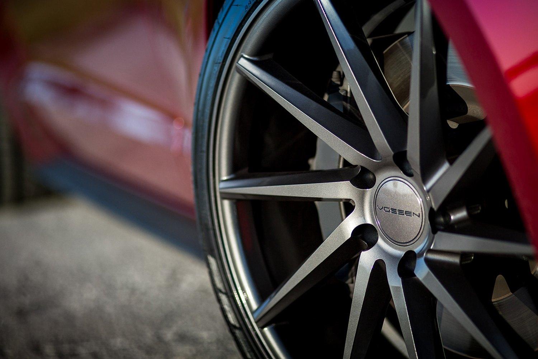 mustangvossen vvscvt gloss graphite on ford