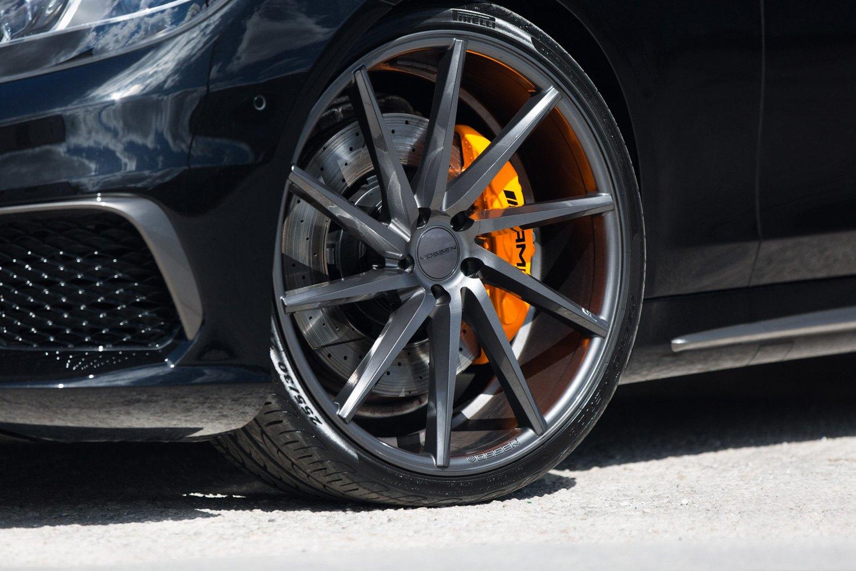 Vossen 174 Cvt Wheels Gloss Graphite Rims