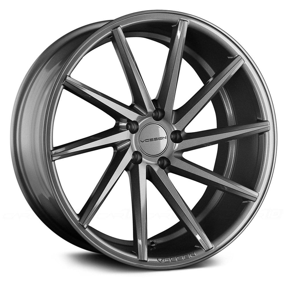vossen cvt wheels 20x10 5 set of 4 graphite rims 45 5x114 3 73 1 ebay. Black Bedroom Furniture Sets. Home Design Ideas