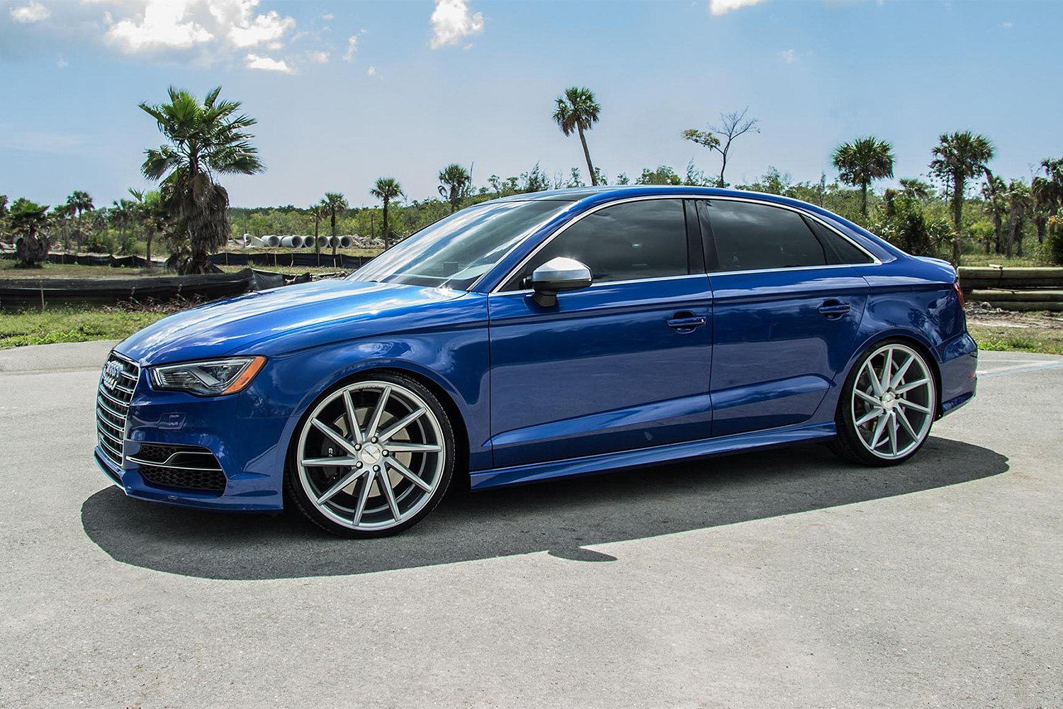 Vossen 174 Cvt Wheels Gloss Silver Rims
