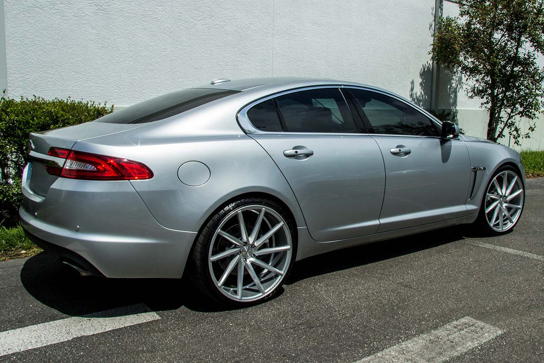 Vossen 174 Cvt Wheels Gloss Silver Rims