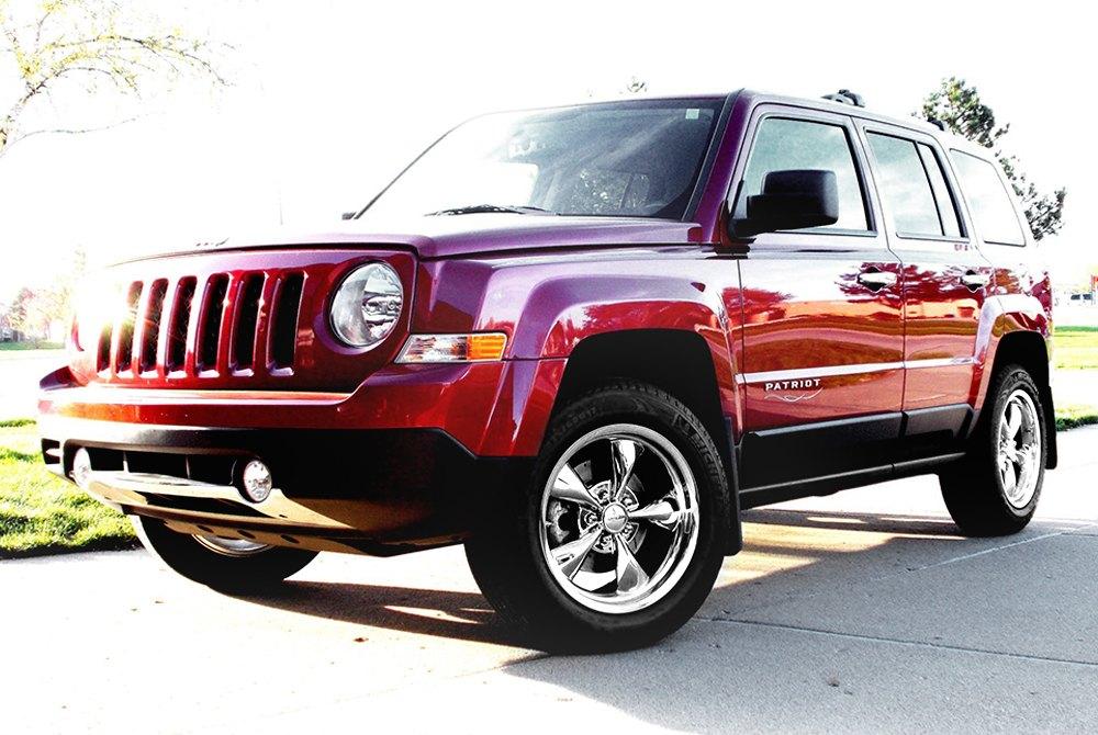 Custom Jeep Patriot >> VOXX REPLICA® BULLET Wheels - Chrome Rims