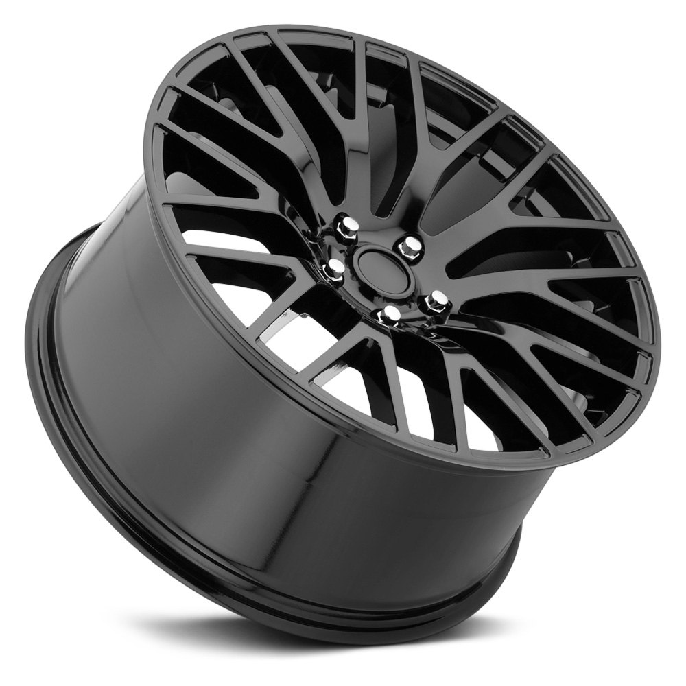 Voxx Replica 174 Mustang Performance Wheels Gloss Black Rims