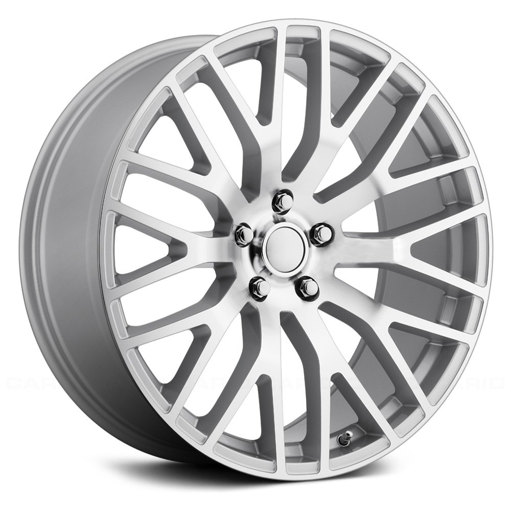 Voxx Replica 174 Mustang Performance Wheels Silver With
