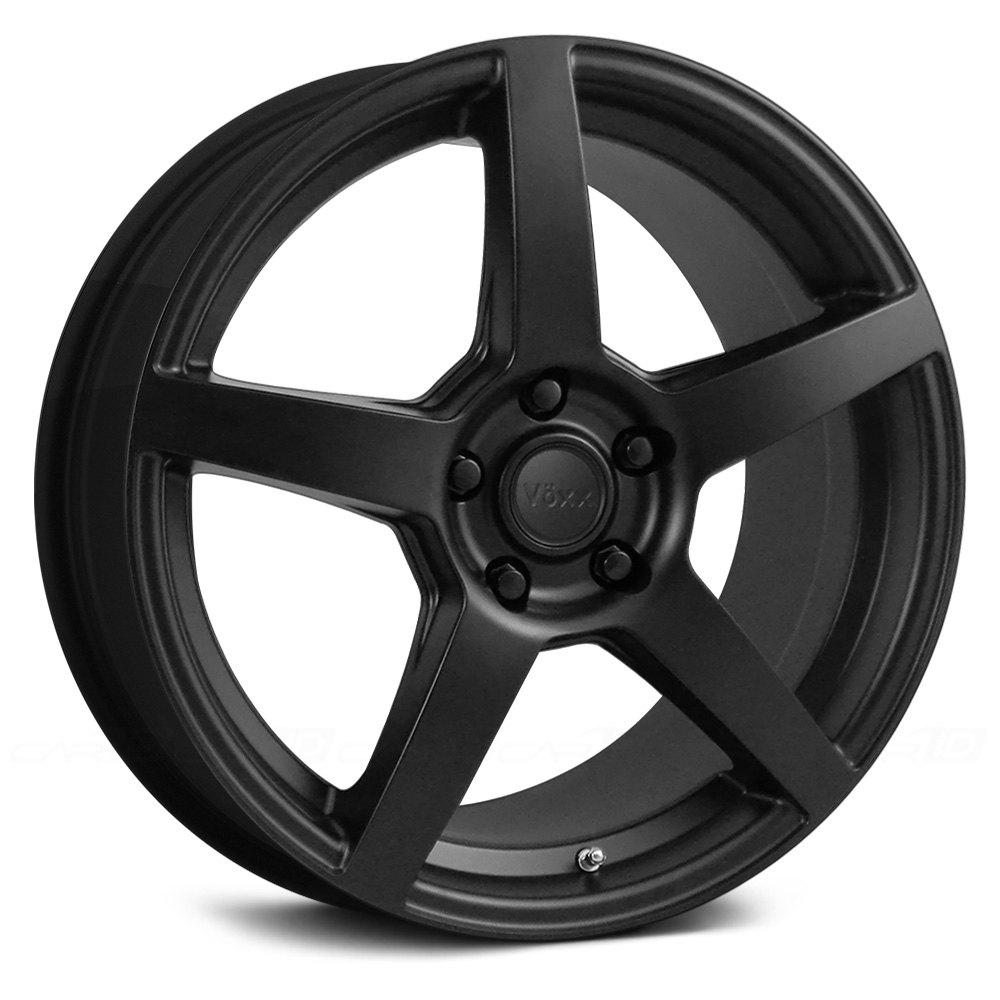 Voxx 174 Mga Wheels Matte Black Rims