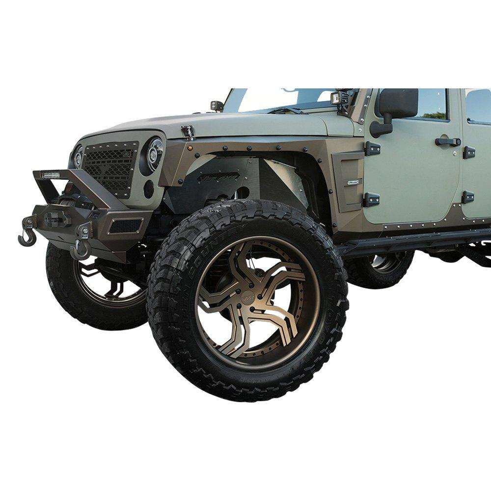Jeep Wrangler Fenders >> Vpr 4x4 Jeep Wrangler Jk 2018 Fender Flares