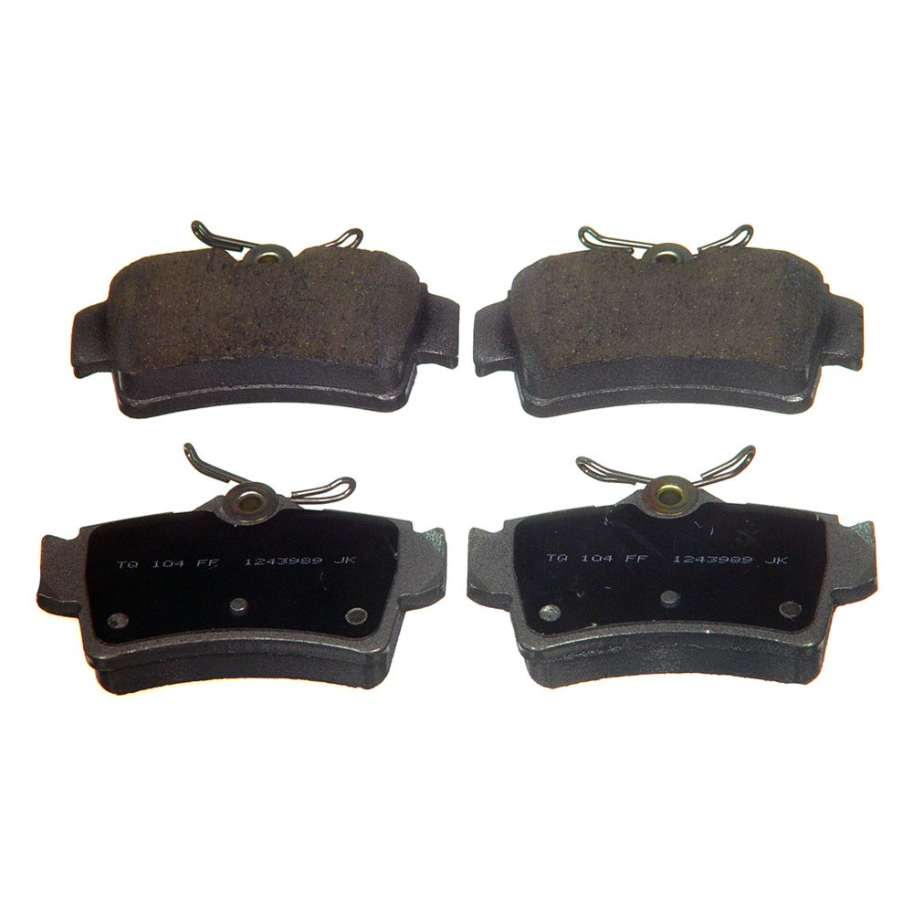 how to change rear disc brake pads