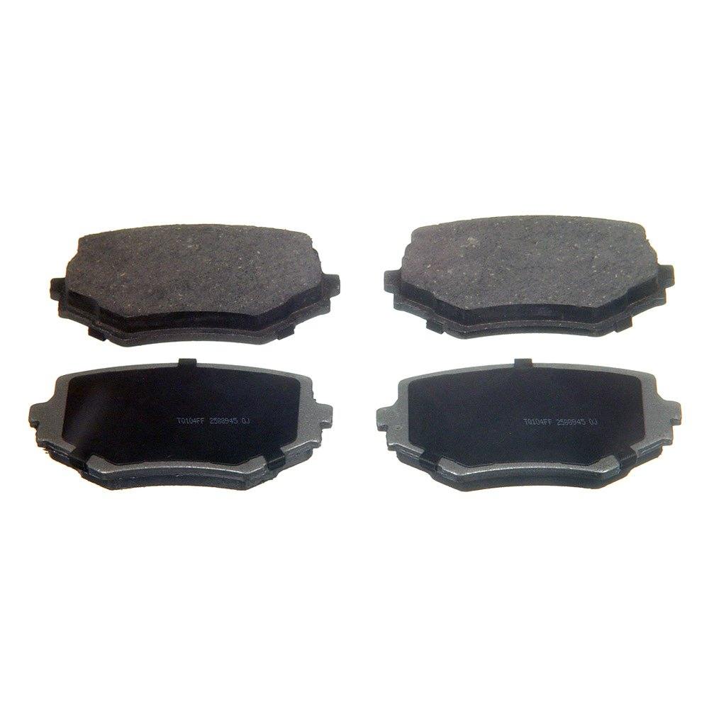 Wagner pd thermoquiet™ ceramic front disc brake pads