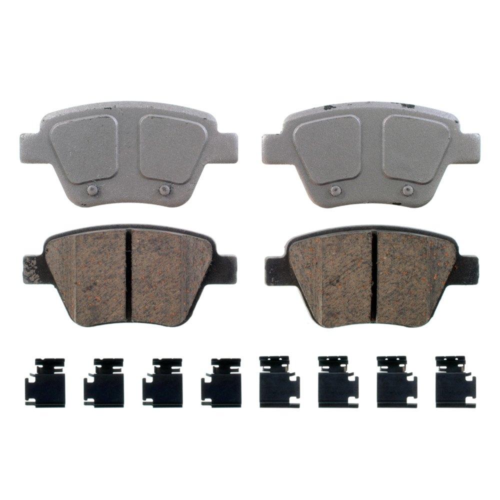 Wagner qc thermoquiet™ ceramic rear disc brake pads