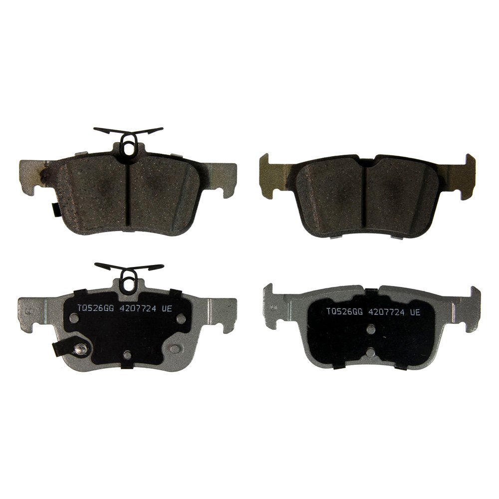 Wagner thermoquiet ceramic rear disc brake padswagner