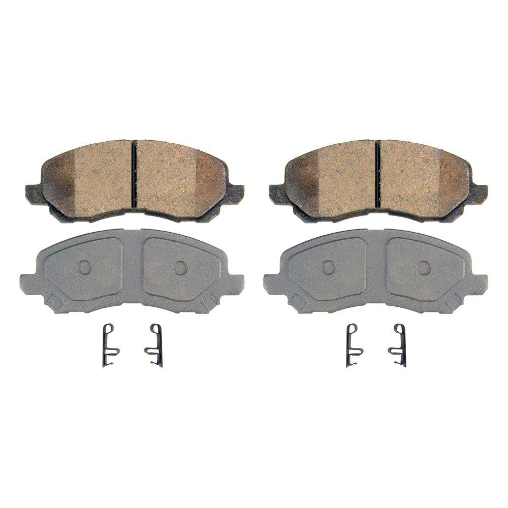 Wagner Brake Pads >> Wagner® QC866 - ThermoQuiet™ Ceramic Front Brake Pads