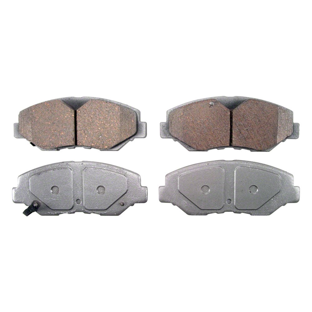 Qc wagner thermoquiet ceramic front disc brake pads