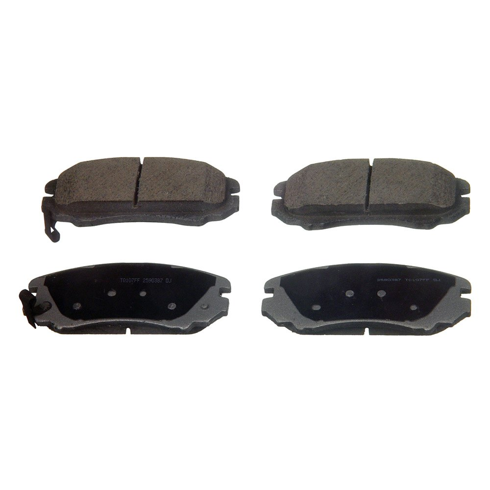 Wagner qc a thermoquiet™ ceramic front disc brake pads