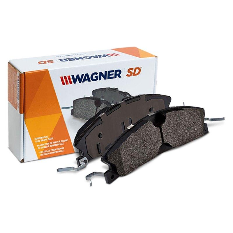 Wagner Severe Duty SX413 Semi-Metallic Disc Pad Set Rear